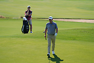 Stephen Gallacher (SCO) on the 17th during Round 1 of the Commercial Bank Qatar Masters 2020 at the Education City Golf Club, Doha, Qatar . 05/03/2020<br /> Picture: Golffile | Thos Caffrey<br /> <br /> <br /> All photo usage must carry mandatory copyright credit (© Golffile | Thos Caffrey)