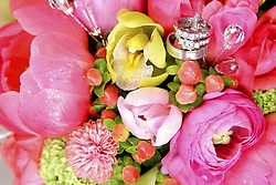 July 21, 2019 - Wedding Rings In Bouquet (Credit Image: © Colleen Cahill/Design Pics via ZUMA Wire)