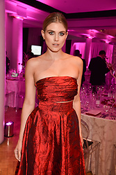 Ashley James at the Floral Ball in aid of Sheba Medical Center hosted by Laura Pradelska and Zoe Hardman and held at One Marylebone, 1 Marylebone Road, London England. 14 March 2017.