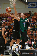 Supercity Rangers Clay Wilson puts up a shot in the Sal's Pizza NBL Round 8 match, Hawkes Bay Hawks vs Auckland Rangers, Pettigrew Green Arena, Napier, Saturday, June 16, 2018. Copyright photo: Kerry Marshall / www.photosport.nz