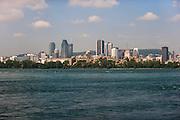 16-18 August, 2012, Montreal, Quebec, Canada.Montreal skyline.(c)2012, Jamey Price.LAT Photo USA.