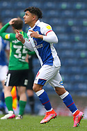 Blackburn Rovers midfielder Tyrhys Dolan (39) during the EFL Sky Bet Championship match between Blackburn Rovers and Birmingham City at Ewood Park, Blackburn, England on 8 May 2021.