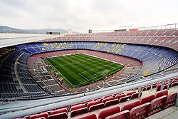 A general view of the Nou Camp Stadium - Mandatory byline: Matt McNulty/JMP - 16/03/2016 - FOOTBALL - Nou Camp - Barcelona,  - FC Barcelona v Arsenal - Champions League - Round of 16
