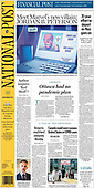 April 08, 2021 (CANADA): Front-page: Today's Newspapers In Canada