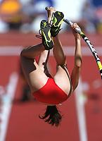 Friidrett. VM 2001 Edmonton. Feature stav kvinner. Feature   Stabhochsprung  Damen<br />                   Leichtathletik  WM 2001
