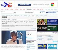 McFly / STV / March 2011