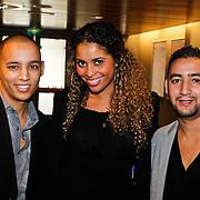 NLD/Amsterdam/20101010 - Premiere soloprogramma Lange Frans in concert, Laurette Gerards en vrienden