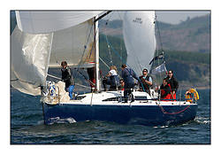 Bell Lawrie Scottish Series 2008. Fine North Easterly winds brought perfect racing conditions in this years event...Class 2 GBR712T, Tan-it, BH 36