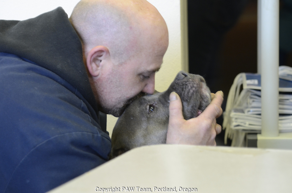 Pets of the homeless are treated at a free veterinary clinic in Portland, Oregon. The clinic is the only source of care for street animals, which  for many of the owners are their only family.
