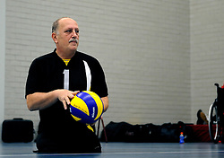 08-01-2011 VOLLEYBAL: ED ROOSEN ZITVOLLEYBALTOERNOOI 2011: LEERSUM<br /> Voller volleyball club organizes for the ninth consecutive time the Ed Roosen sitting volleyball tournament / Ljubljana Slovenia vs. Volleer 1<br /> ©2011-WWW.FOTOHOOGENDOORN.NL