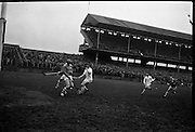 Railway Cup Final, Munster v Leinster, at Croke Park..17.03.1964, 03.17.1964, 17th March 1964, referee S O Foslu, Leinster 3-07, Munster 2-09,.17.03.1964