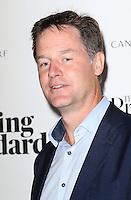 Nick Clegg, Former UK Deputy Prime Minister, The 2015 London Evening Standard Progress 1000, Crossrail Station Canary Wharf, London UK, 16 September 2015, Photo by Richard Goldschmidt