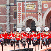NLD/Amsterdam /20130413 - Heropening Rijksmuseum 2013 door Koningin Beatrix, Band Overzees, T.O.K. Rythm  & Brass