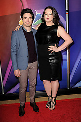 March 8, 2018 - New York, NY, USA - March 8, 2018  New York City..Ben Feldman and Lauren Ash attending arrivals for the 2018 NBC NY Midseason Press Junket at Four Seasons Hotel on March 8, 2018 in New York City. (Credit Image: © Kristin Callahan/Ace Pictures via ZUMA Press)