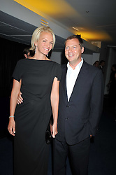 ELISABETH MURDOCH and MATTHEW FREUD at the annual GQ Awards held at the Royal Opera House, Covent Garden, London on 8th September 2009.