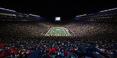 University of Michigan vs University of Wisconsin at the Big House 10/13/2018