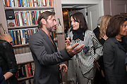 MAT COLLISHAW; LUCY FERRY, Dinner to celebrate the opening of Pace London at  members club 6 Burlington Gdns. The dinner followed the Private View of the exhibition Rothko/Sugimoto: Dark Paintings and Seascapes.