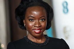 Danai Gurira attending the after party for the 72nd British Academy Film Awards, at the Grosvenor House Hotel in central London. Picture date: Sunday February 10th, 2019. Photo credit should read: Matt Crossick/ EMPICS Entertainment.
