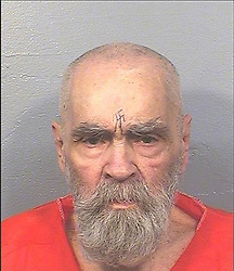 Nov 17, 2017 - FILE - Mass murderer CHARLES MANSON remained alive Friday, authorities said, but details of the illness that brought him to a Bakersfield hospital remain unclear. Cult leader Manson was recently hospitalized and officials are citing medical privacy rules and not announcing his condition. It has been confirmed that he is alive. The 83-year-old inmate has been behind bars in the California prison system for 46 years, convicted for his role in leading the cult that committed a wave of murders. The cult of those who followed him was known as the Manson Family. PICTURED: Aug 14, 2017 - Bakersfield, California, U.S. - This photo provided by the California Department of Corrections and Rehabilitation shows Charles Manson in August 2017. (Credit Image: © California Department of Corrections and Rehabilitation via ZUMA Wire)