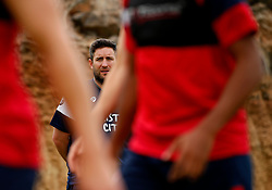 Bristol City head coach Lee Johnson watches over the training session - Mandatory by-line: Matt McNulty/JMP - 21/07/2017 - FOOTBALL - Tenerife Top Training Centre - Costa Adeje, Tenerife - Pre-Season Training