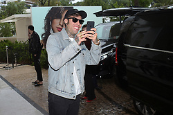 71st Cannes Film Festival 2018, Celebrities sightseen on the Croisette. Pictured: Fedez