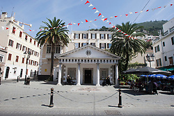 Peñon de Gibraltar. Images of Gibraltar, the British overseas territory located on the southern end of the Iberian Peninsula at the entrance of the Mediterranean.