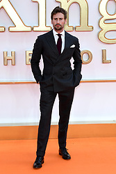 Edward Holcroft attending the Kingsman: The Golden Circle World Premiere held at Odeon and Cineworld Cinemas, Leicester Square, London. Picture date: Monday 18th September 2017. Photo credit should read: Doug Peters/Empics Entertainment