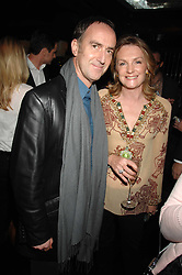ANGUS DEAYTON  and LADY LLOYD-WEBBER at a party to celebrate Imogen Lloyd Webber's 30th birthday and the launch of her Single Girl's Guide held at Vilstead, 9 Swallow Street, London on 27th March 2007.<br />