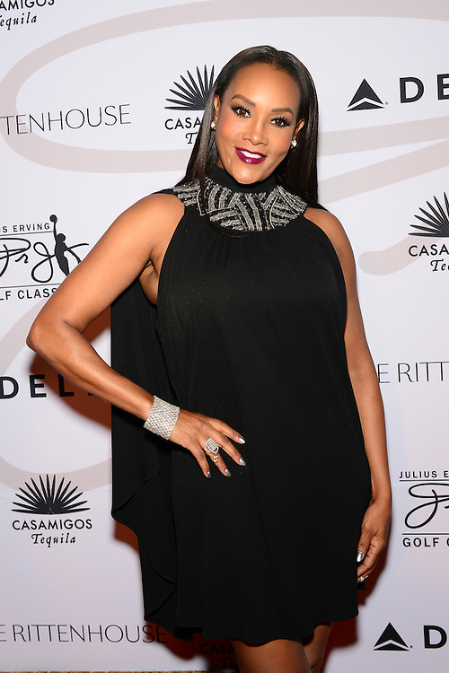 Actress Vivica A. Fox attends The Julius Erving 'Black Tie' Ball Event at The Rittenhouse Hotel on September 13, 2015 in Philadelphia, Pennsylvania. (Photo by Lisa Lake/Getty Images for the Julius Irving Golf Classic)