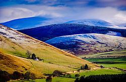 Winter landscape in the Scottish Borders near Broughton<br /> <br /> (c) Andrew Wilson   Edinburgh Elite media