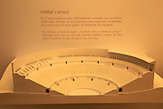 Roman amphitheatre museum display model  Cadiz, Spain
