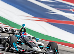 March 22, 2019 - Austin, Texas, U.S. - COLTON HERTA (R) (88) of The United States goes through the turns during practice for the INDYCAR Classic at Circuit Of The Americas in Austin, Texas. (Credit Image: © Walter G Arce Sr Asp Inc/ASP)