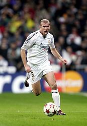 March 22, 2005 - SPANIEN - 050222, Fotboll, Zinedine Zidane, Real Madrid.© BildbyrŒn - cop 7. (Credit Image: © Bildbyran via ZUMA Press)