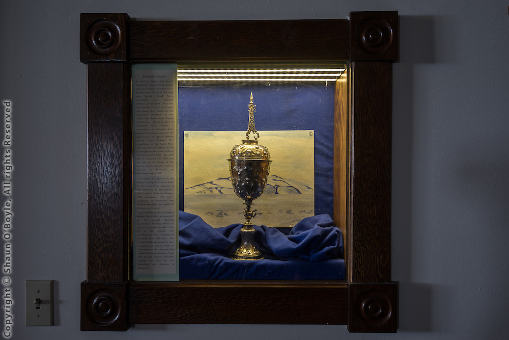 The Erebus Chalice in the Chapel of the Snows