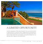 Lifestyle shot for a Fisher Island brochure