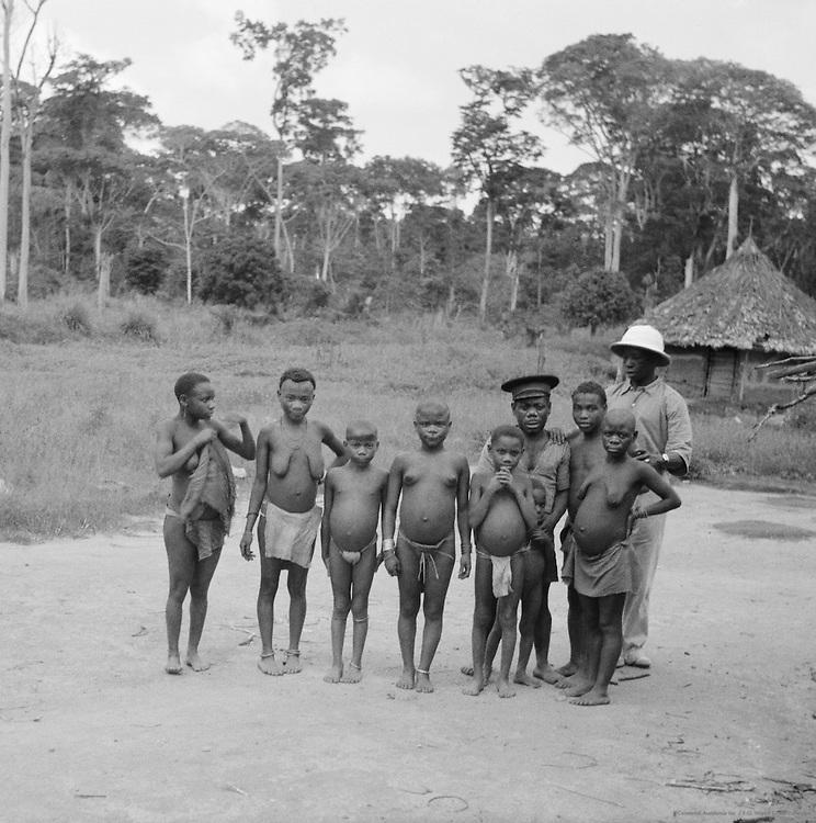 Pygmies (Mbuti), Ituri Forest, Belgian Congo (Democratic Republic of the Congo), Africa, 1937