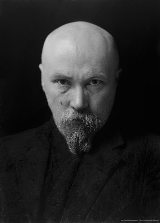 Nicholas Roerich, professor, painter and spiritual teacher, 1920