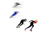 Suzanne Schulting of the Netherlands competes during theLadies Short Track Speed Skating 1000m Heats on day eleven of the PyeongChang 2018 Winter Olympic Games at Gangneung Ice Arena on February 20, 2018 in Gangneung, South Korea.