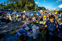 Indonesia, Sumatra. Parapat. The market in Parapat. Yes, it is messy!