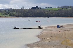 © Licensed to London News Pictures. FILE PICTURE 17/04/2012. Picture 1 of 2 (Comparison pictures taken a year apart) Drought conditions a year ago (17.04.2013) at Bewl Water, Kent. Photo credit : Grant Falvey/LNP