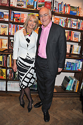 MICHAEL & SANDRA HOWARD at a party to celebrate the publication of Sandra Howard's new book - Ex-Wives held at Daunt Books, 83 Marylebone High Street, London W1 on 30th April 2012.