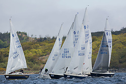 Day one of the Silvers Marine Scottish Series 2015, the largest sailing event in Scotland organised by the  Clyde Cruising Club<br /> Racing on Loch Fyne from 22rd-24th May 2015<br /> <br /> National Sonata fleet, GBR8005N, Virtuoso, Brian Wiseman, HSC, GBR8314N , Saraband , Mark Taylor , Prestwick SC<br /> <br /> Credit : Marc Turner / CCC<br /> For further information contact<br /> Iain Hurrel<br /> Mobile : 07766 116451<br /> Email : info@marine.blast.com<br /> <br /> For a full list of Silvers Marine Scottish Series sponsors visit http://www.clyde.org/scottish-series/sponsors/