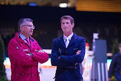 Becker Otto (GER), Deusser Daniel (GER)<br /> Longines FEI World Cup™ Jumping Final 2013/2014<br /> Lyon 2014<br /> © Dirk Caremans