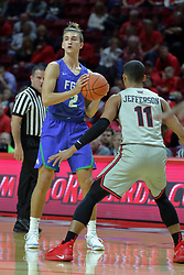 NORMAL, IL - November 06:  Caleb Catto during a college basketball game between the ISU Redbirds  and the Florida Gulf Coast Eagles on November 06 2018 at Redbird Arena in Normal, IL. (Photo by Alan Look)