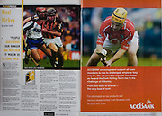 All Ireland Senior Hurling Championship Final,.12.09.2004, 09.12.2004, 12th September 2004,.Senior Cork 0-7, Kilkenny 0-9,.Minor Kilkenny 1-18 ,  Galway 3-12 (draw),.12092004AISHCF,.ACC Bank,