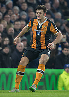 Football - 2016 / 2017 Premier League - Chelsea vs. Hull City <br /> <br /> Harry Maguire of Hull City at Stamford Bridge.<br /> <br /> COLORSPORT/DANIEL BEARHAM