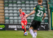 Sunderland Midfielder Max Power (6) passes the ball forward  during the EFL Sky Bet League 1 match between Plymouth Argyle and Sunderland at Home Park, Plymouth, England on 1 May 2021.