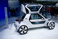 Volkswagen NILS concept electric car at Frankfurt Motor Show or IAA 2011 in Germany