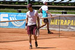 Matic Spec during final of Drzavno prvenstvo v tenisu za clane in clanice, on June 27th, 2019 in Maribor, Slovenia. Photo by Milos Vujinovic / Sportida