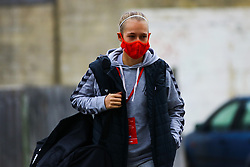 Flo Allen of Bristol City Women arrives at Twerton Park prior to kick off - Mandatory by-line: Will Cooper/JMP - 18/10/2020 - FOOTBALL - Twerton Park - Bath, England - Bristol City Women v Birmingham City Women - Barclays FA Women's Super League